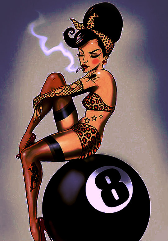eight-ball-pin-up-girl-screaming-demons